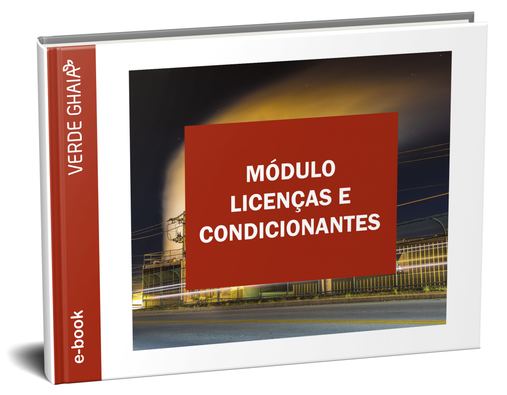 MÓDULO LICENÇAS E CONDICIONANTES - controle de  Licenças Ambientais e condicionantes