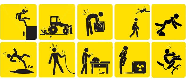 Controle operacional para mitigar riscos de acidentes e incidentes