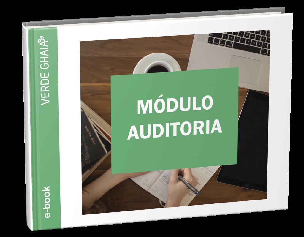 E-book sobre o Módulo SOGI Auditoria - Verde Ghaia. Agora ficou mais fácil acompanhar as auditorias de sistema de gestão e de conformidade legal.